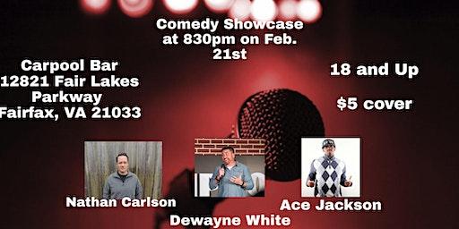Comedy Showcase at Carpool