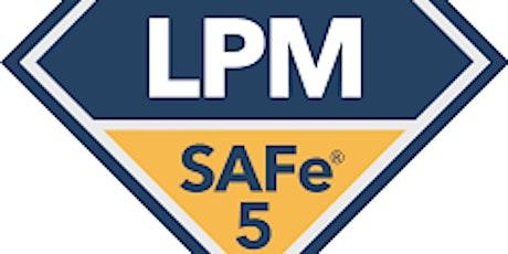 Scaled Agile : SAFe Lean Portfolio Management (LPM) 5.0 Online Training tickets