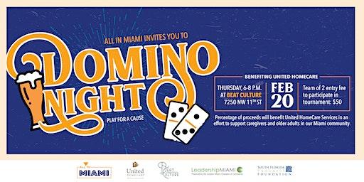 All in Miami: Domino Night