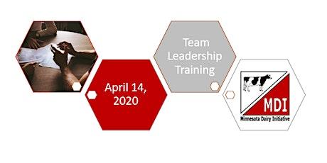 Minnesota Dairy Initiative Team Leadership Training tickets