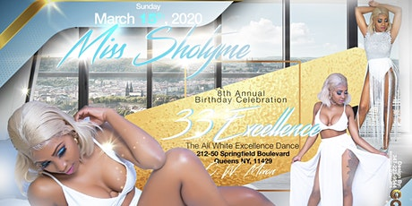 Miss Shotyme All White 33Excellence Dance tickets