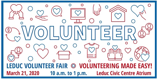 Leduc Volunteer Fair 2020 - Community Bus Tours