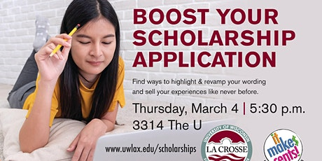 Boost your Scholarship Application tickets