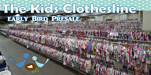 The Kids Clothesline Early Bird Presale