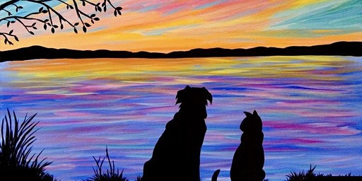 Paint with Ashley Blake-Paws for Life Fundraiser