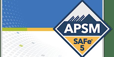SAFe Agile Product and Solution Management (APSM) Washington DC/NoVa Online Training tickets