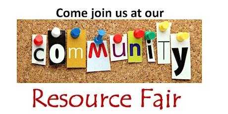 Community Resource Fair Vendor Registration tickets