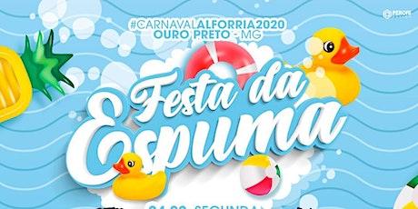 Carnaval Alforria- Festa da Espuma ingressos