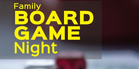 Board Game Night (Families) tickets