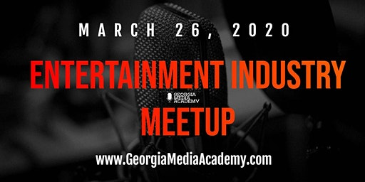 Entertainment Industry Meetup at the Georgia Media Academy