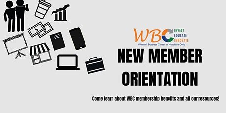 WBC New Member Orientation tickets