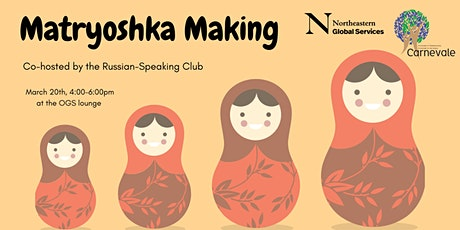 Matryoskha Making: Co-hosted by the Russian-Speaking Club (RSC) tickets