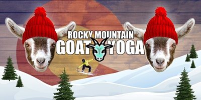 Goat Yoga - March 14th (RMGY Studio)