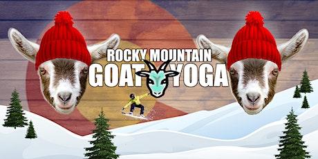 Goat Yoga - March 14th (RMGY Studio) tickets