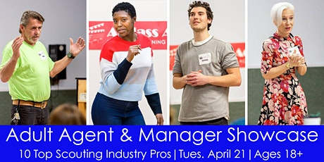 Adult Agent & Manager Showcase with 10 Talent Reps tickets
