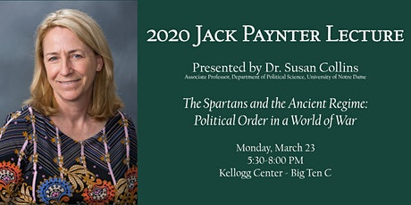 2020 Jack Paynter Lecture featuring Dr. Susan Collins tickets