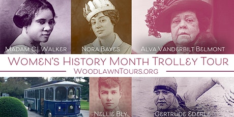 Women's History Month Trolley Tour tickets