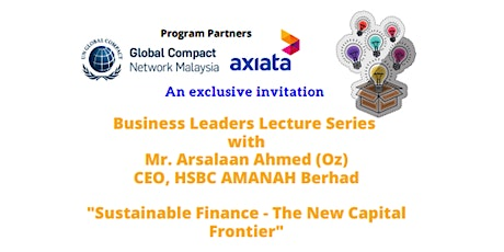 GCMY Business Leaders Lecture Series tickets