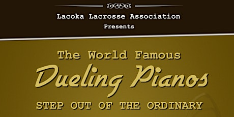 World Famous DUELING PIANOS Fundraiser tickets