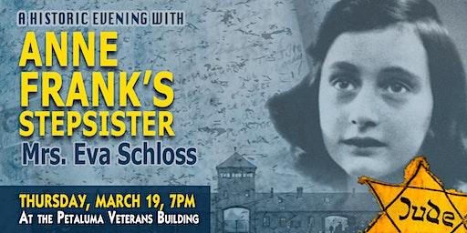 A Historic Evening with Anne Frank's Step-Sister