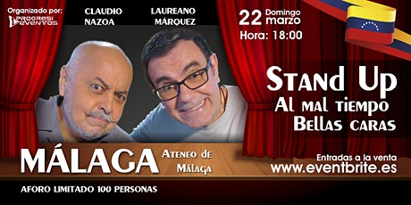 Laureano Marquez y Claudio Nazoa en MÁLAGA tickets