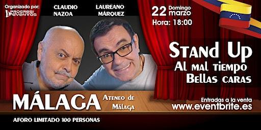 Laureano Marquez y Claudio Nazoa en MÁLAGA