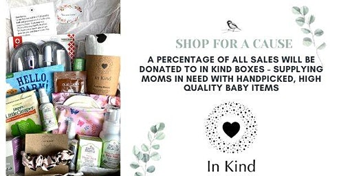Shop for a Cause benefiting In Kind Boxes