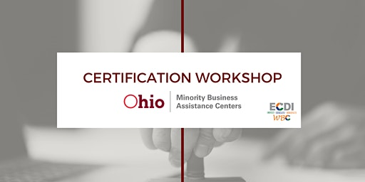MBAC Certification Workshop at the WBC