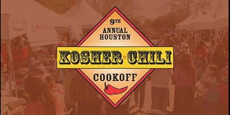 9th Annual Houston Kosher Chili Cookoff tickets