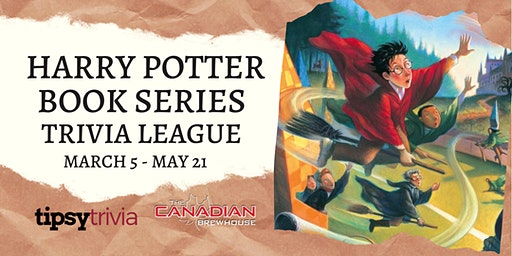 Harry Potter Book Series Trivia League: March 5 - May 21