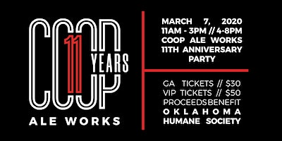 COOP Ale Works 11th Anniversary Party