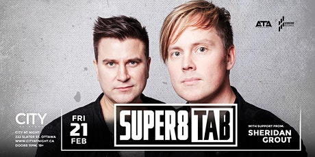 Super8 & Tab at City At Night tickets