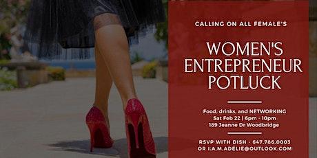 Women's Entrepreneur  Potluck - FREE EVENT tickets
