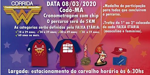 CORRIDA COMBINAÇÕES MULHER MARAVILHA 2020