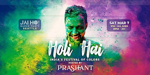 Seattle Holi Hai - 10th Annual Color Festival Jai Ho! Dance Party