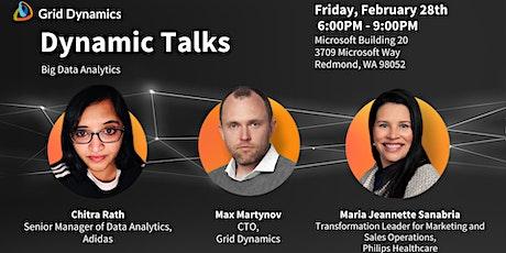 """Dynamic Talks Seattle/Redmond: """"Big Data Analytics"""" tickets"""