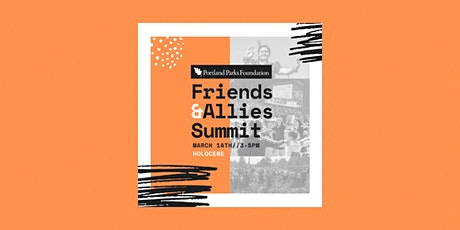 Portland's Parks Friends & Allies Summit tickets