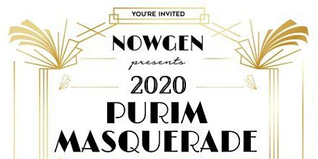 NowGen Purim Masquerade 2020 tickets