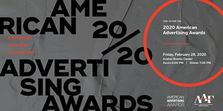 AAF-ND 2020  American Advertising Awards tickets