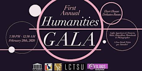 Humanities Gala 2020 tickets