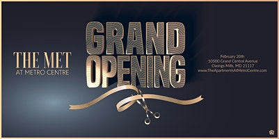Grand Opening Event: The MET Apartments