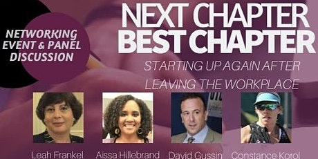 NEXT CHAPTER, BEST CHAPTER.Starting up again after you leave the workplace. tickets