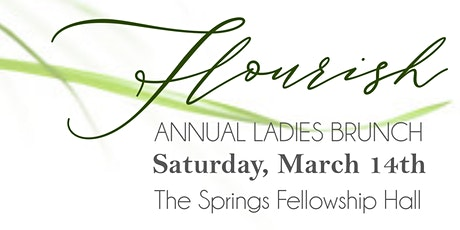 FLOURISH Annual Ladies Brunch tickets
