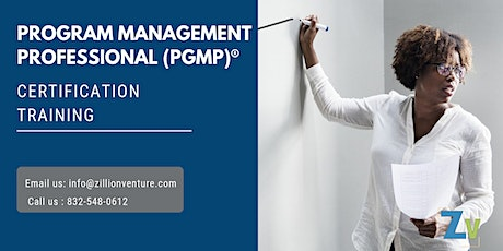 PgMP 3 days Classroom Training in Kamloops, BC tickets