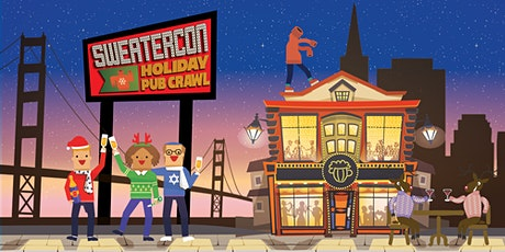 Sweater-Con 2021: San Francisco Ugly Sweater Pub Crawl tickets