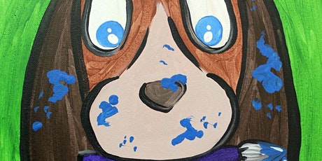 Kid's Creative Puppy Painting Class tickets