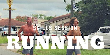 Running Skills Session tickets