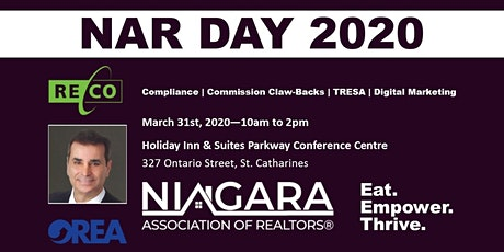 NAR Day 2020 tickets
