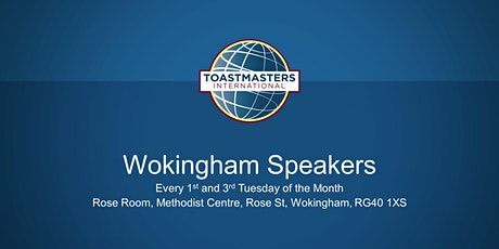 Wokingham Speakers - Enhance your communication & leadership skills tickets