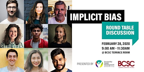 Implicit Bias - Community Round Table Discussion tickets
